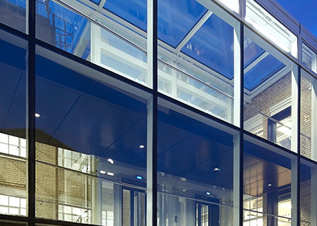 Heal's, Alfred Mews. London.  Architect: John McAslan + Partners; Consultant: Cundall ; Photography: luxreview